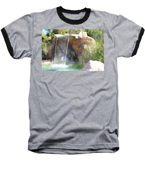 Garden Waterfall Baseball T-Shirt