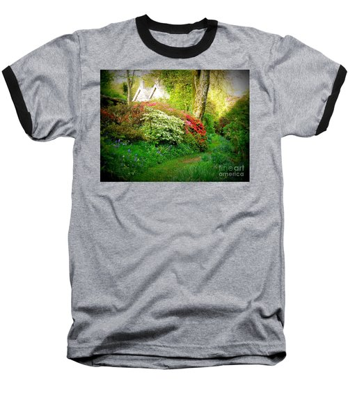 Gardens Of The Old Rectory Baseball T-Shirt