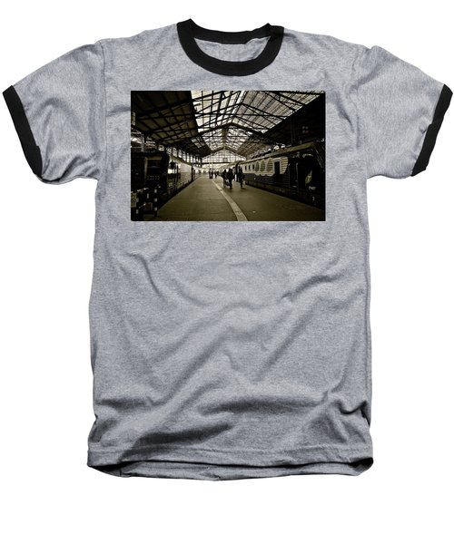 Baseball T-Shirt featuring the photograph Gare De Saint Lazare by Eric Tressler