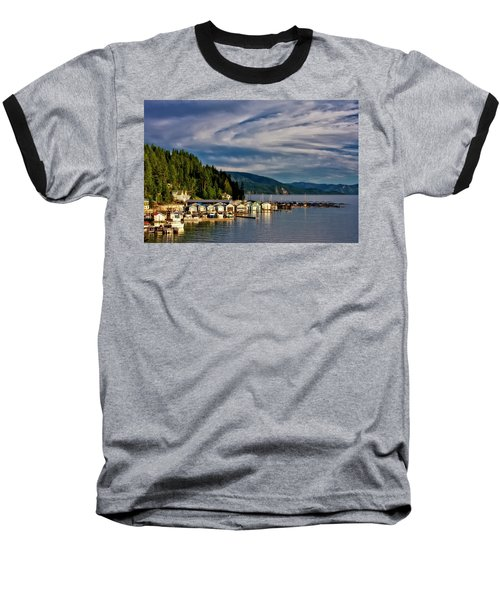 Baseball T-Shirt featuring the photograph Garfield Bay by Albert Seger