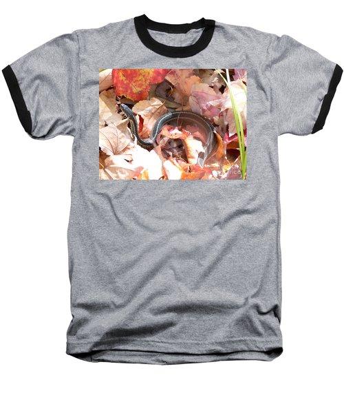 Garter Snake Baseball T-Shirt