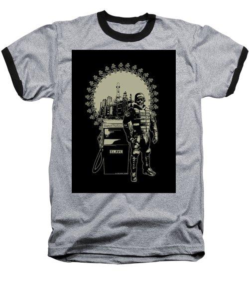 Gas Riot  Baseball T-Shirt