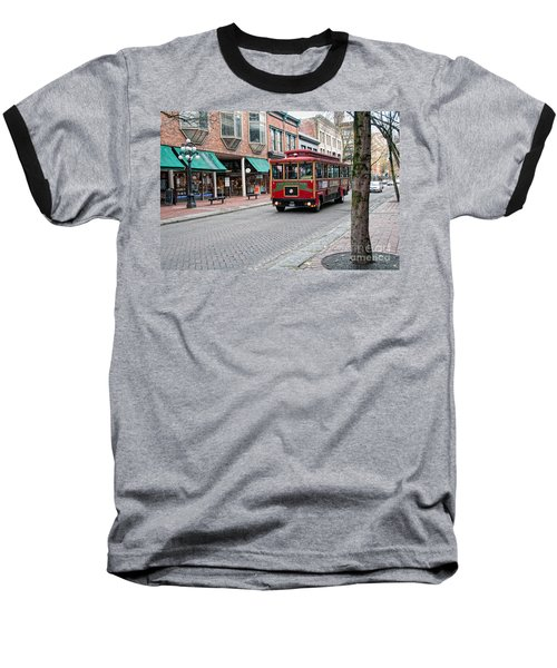Gastown Street Scene Baseball T-Shirt by Carol Ailles