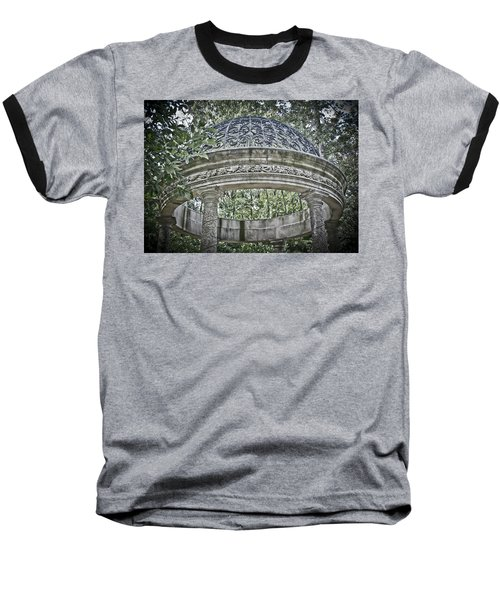 Gazebo At Longwood Gardens Baseball T-Shirt