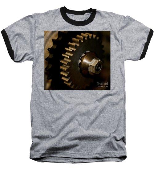Gears  Baseball T-Shirt