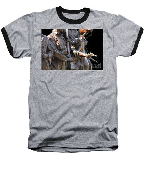 Baseball T-Shirt featuring the photograph Gettysburg Monument by Cindy Manero