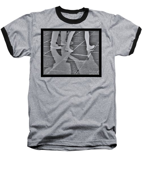 Ghost Walkers Baseball T-Shirt by Victoria Harrington