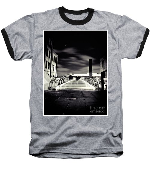 Ghosts In The City Baseball T-Shirt