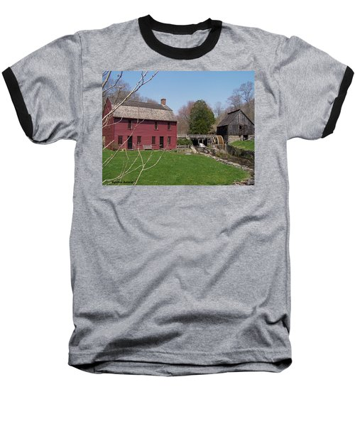 Baseball T-Shirt featuring the photograph Gilbert Stewart Birth Place by Cynthia Amaral