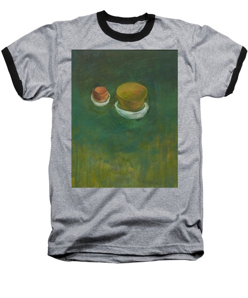 Baseball T-Shirt featuring the painting Ginger Pot by Kathleen Grace