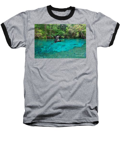 Ginnie Springs Baseball T-Shirt