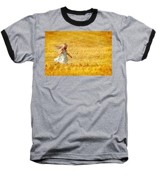 Girl With The Golden Locks Baseball T-Shirt