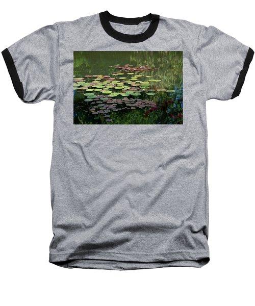 Giverny Lily Pads Baseball T-Shirt