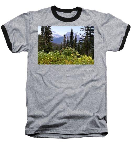 Glacier Scenery Baseball T-Shirt