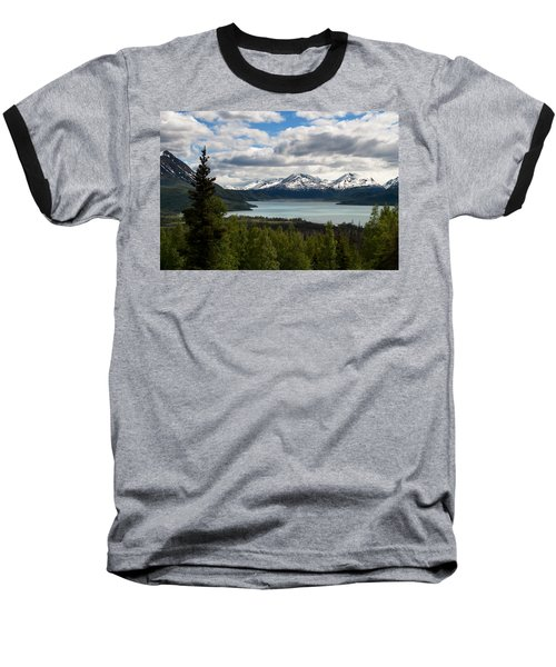 Glacier Water Baseball T-Shirt