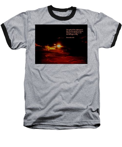 Baseball T-Shirt featuring the photograph Glorious 2 by Maria Urso