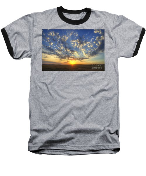 Glorious Sunrise Baseball T-Shirt by Jim And Emily Bush