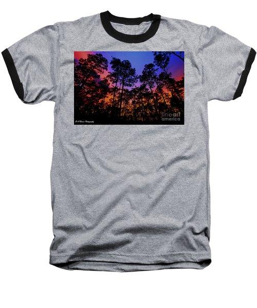 Glowing Forest Baseball T-Shirt