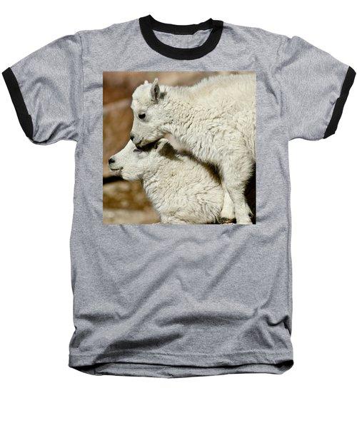 Goat Babies Baseball T-Shirt