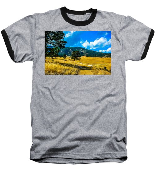 Baseball T-Shirt featuring the photograph God's Country by Shannon Harrington