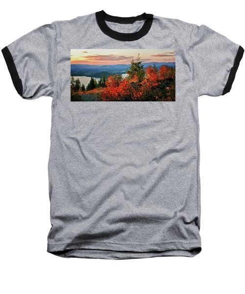 Baseball T-Shirt featuring the photograph Gold Hill Sunset by Albert Seger