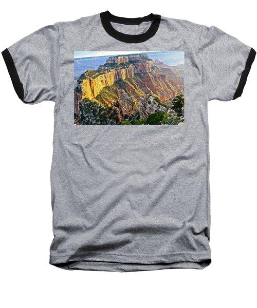 Gold Rim Baseball T-Shirt