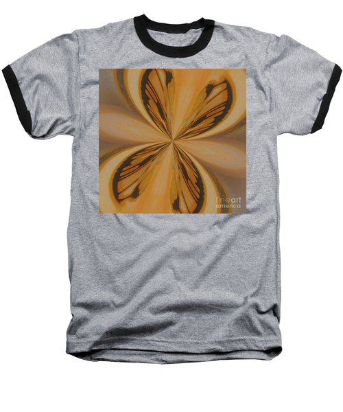 Golden Butterfly Baseball T-Shirt