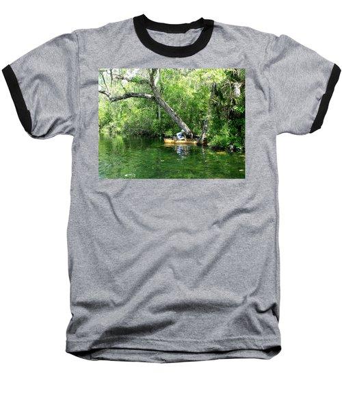 Golden Canoe Launch Baseball T-Shirt