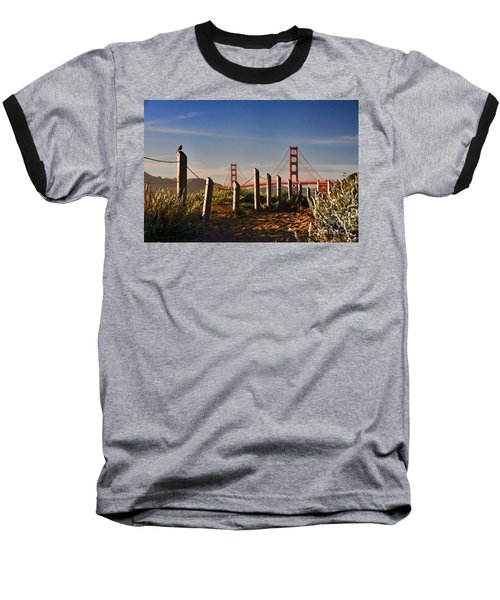 Golden Gate Bridge - 2 Baseball T-Shirt