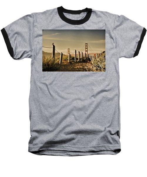 Golden Gate Bridge - 3 Baseball T-Shirt