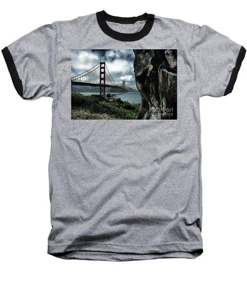 Golden Gate Bridge - 4 Baseball T-Shirt
