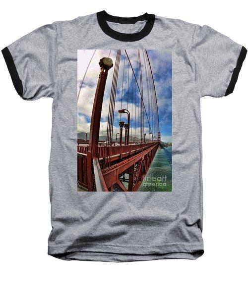 Golden Gate Bridge - 7 Baseball T-Shirt