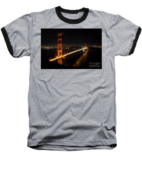 Golden Gate Bridge 2 Baseball T-Shirt by Vivian Christopher