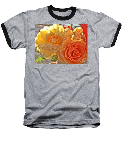 Baseball T-Shirt featuring the photograph Golden Light by Debbie Portwood