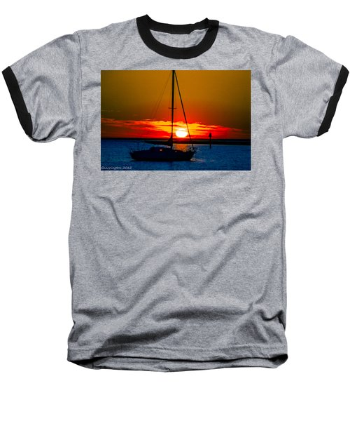 Baseball T-Shirt featuring the photograph Good Night by Shannon Harrington