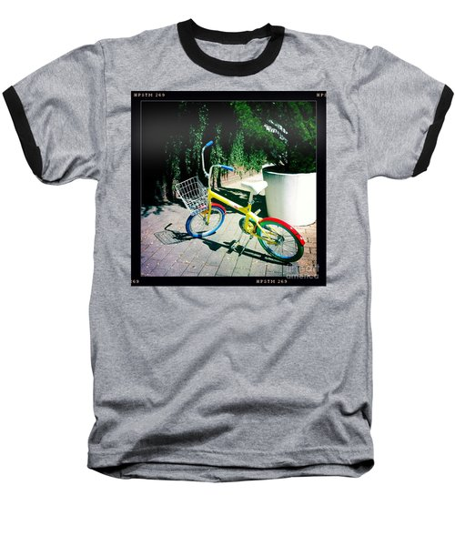 Baseball T-Shirt featuring the photograph Google Mini Bike by Nina Prommer