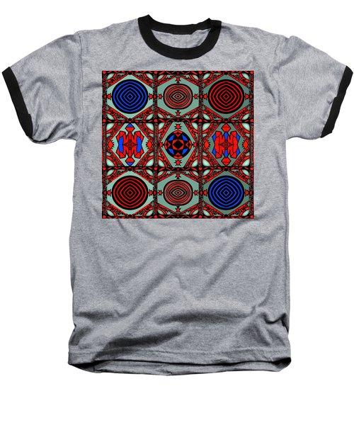 Gothic Wall Baseball T-Shirt