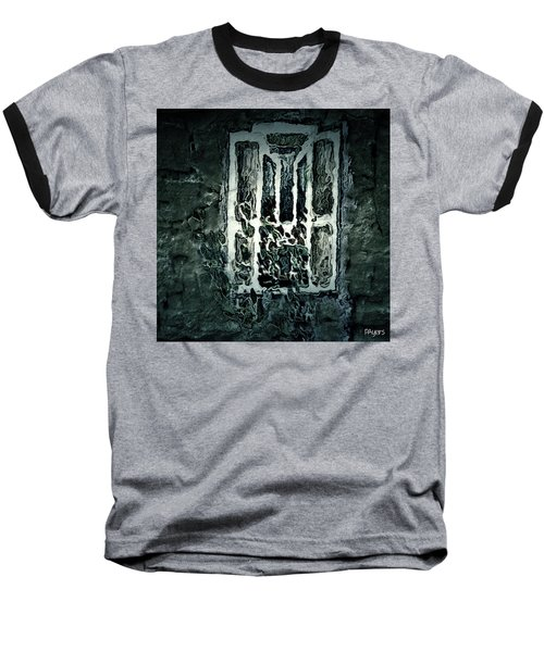 Gothic Window Baseball T-Shirt