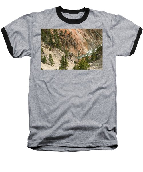 Grand Canyon And Yellowstone River Baseball T-Shirt by Living Color Photography Lorraine Lynch