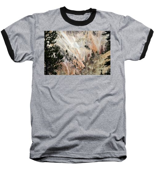 Grand Canyon Colors Of Yellowstone Baseball T-Shirt by Living Color Photography Lorraine Lynch
