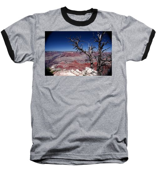 Baseball T-Shirt featuring the photograph Grand Canyon Number One by Lon Casler Bixby