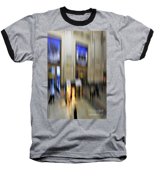 Baseball T-Shirt featuring the photograph Grand Central Station Italian Style by Andy Prendy