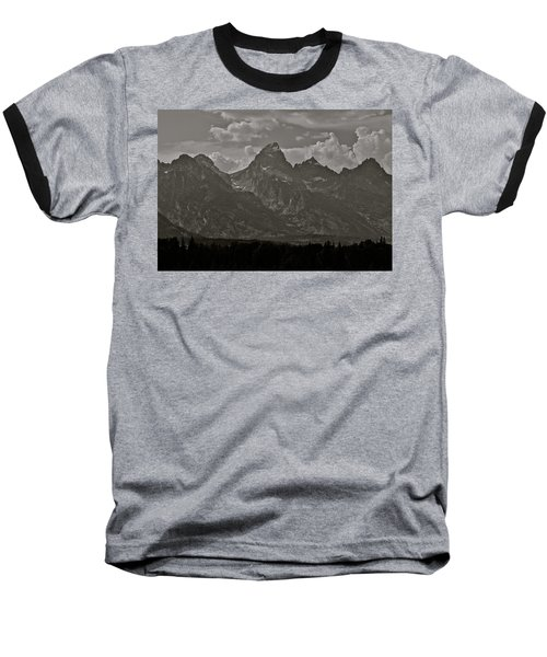 Baseball T-Shirt featuring the photograph Grand Tetons by Eric Tressler