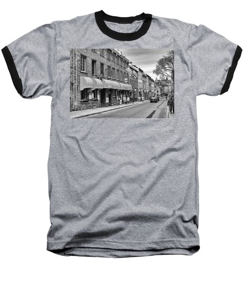 Baseball T-Shirt featuring the photograph Grande Allee by Eunice Gibb