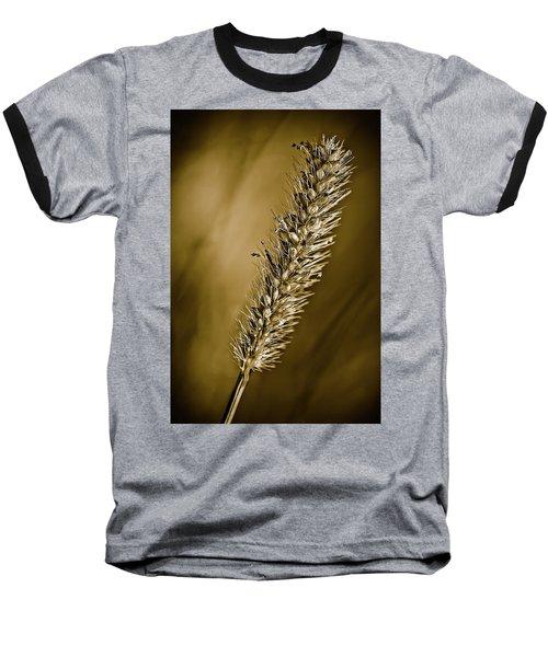 Grass Seedhead Baseball T-Shirt