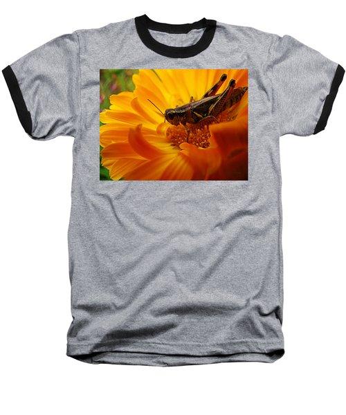 Grasshopper Luncheon Baseball T-Shirt