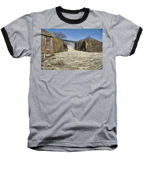 Great Falls Of Paterson    Baseball T-Shirt