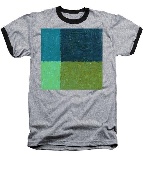 Green And Blue Baseball T-Shirt