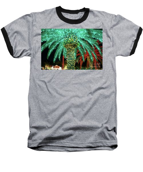 Green Palms Baseball T-Shirt