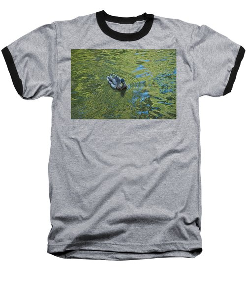 Baseball T-Shirt featuring the photograph Green Pool by Joseph Yarbrough